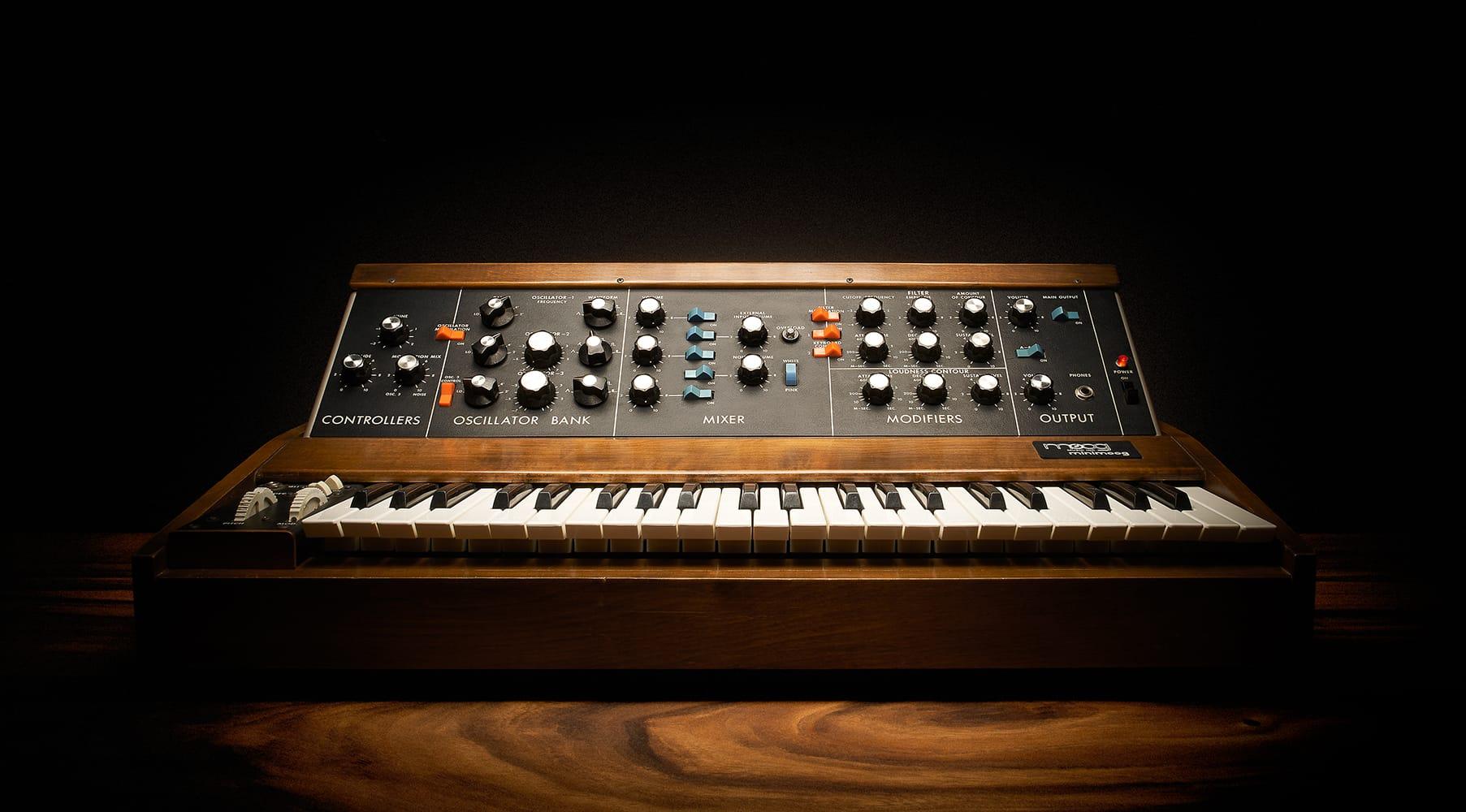 Moog Synth History - the Minimoog