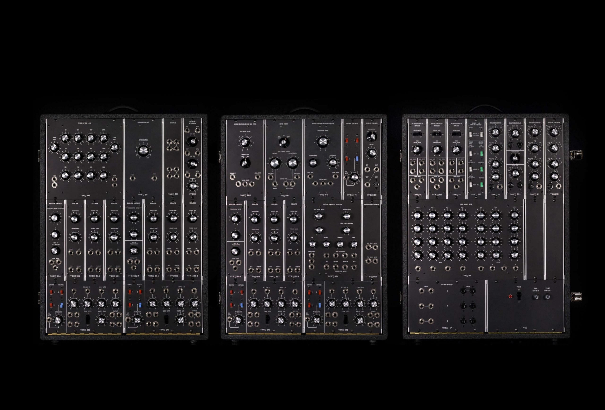 Moog Synth History - The IIIP
