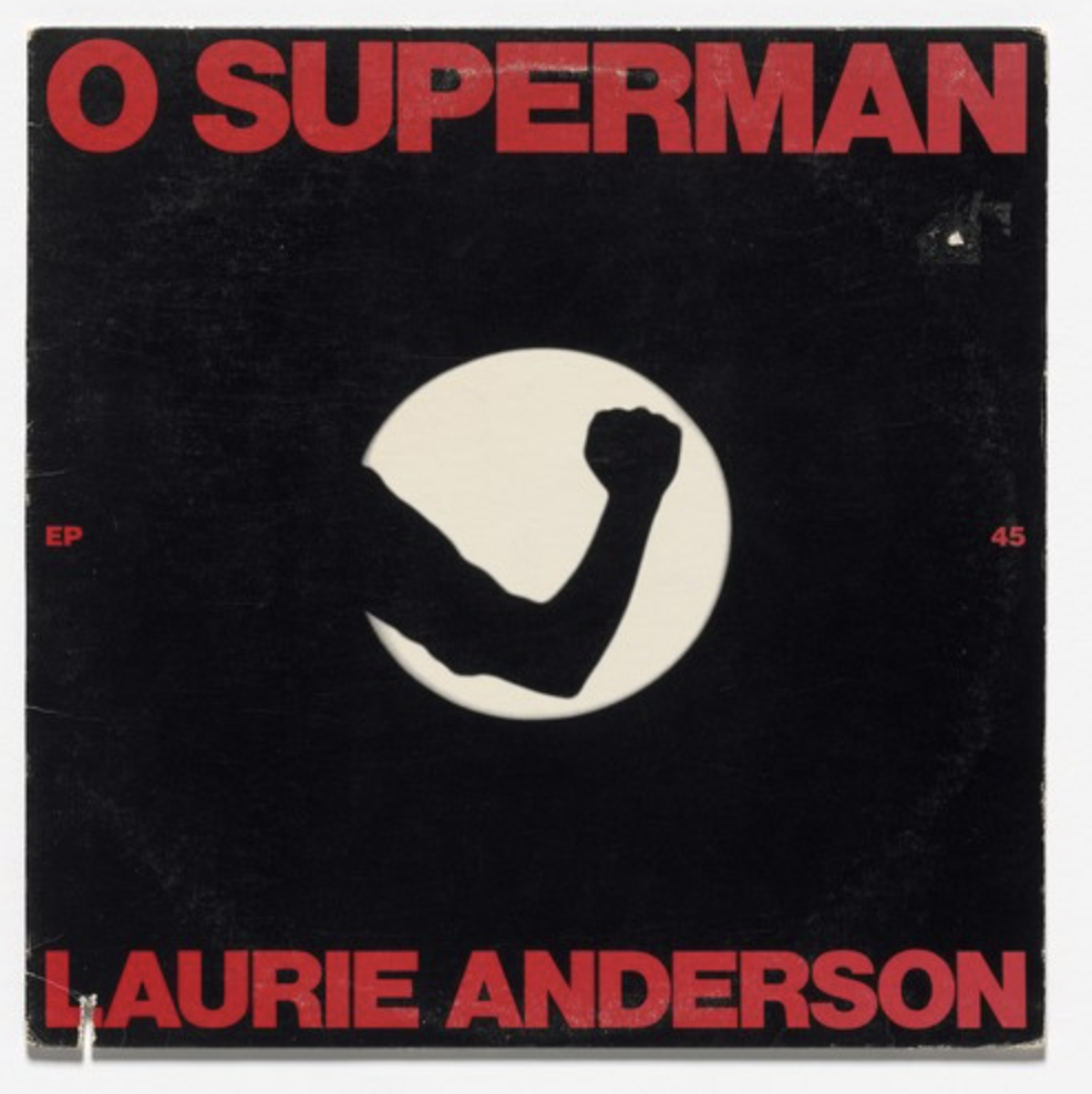 O Superman features some of the best vocals ever