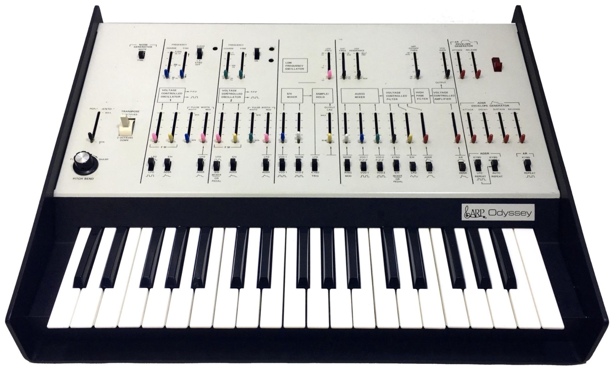Kraftwerk Synths ARP Odyssey