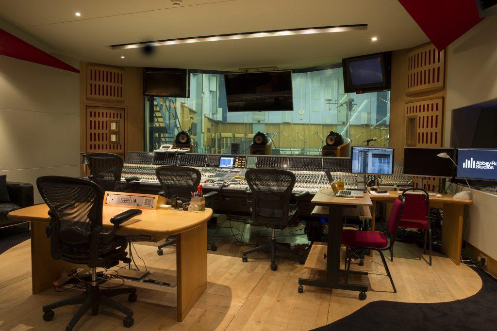 Abbey Road Studio One Control Room