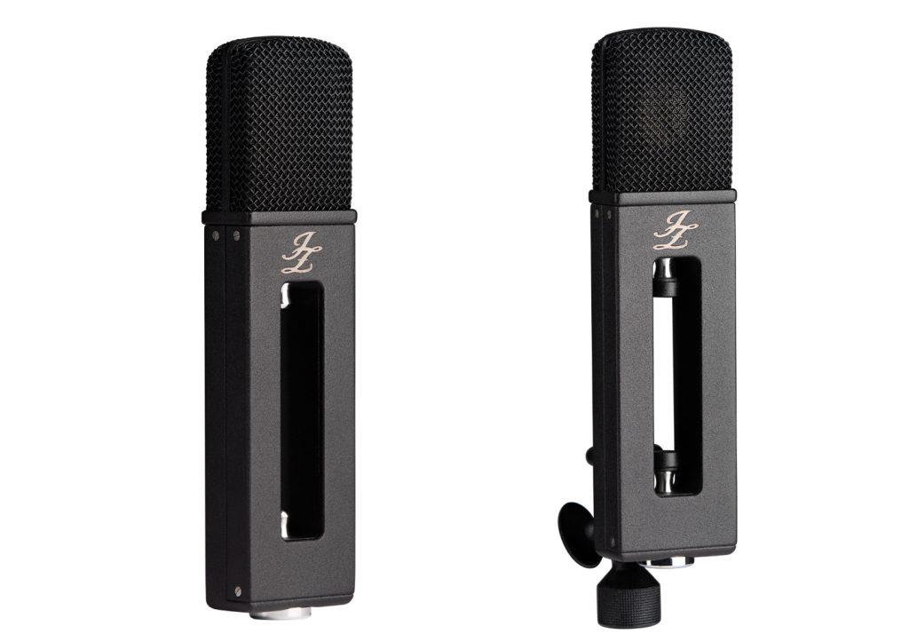 JZ Black Hole micrphones against a white background