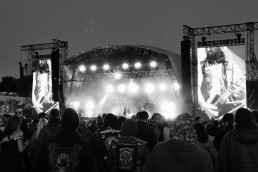 Bullet for my Valentine on stage at Download Pilot 2021