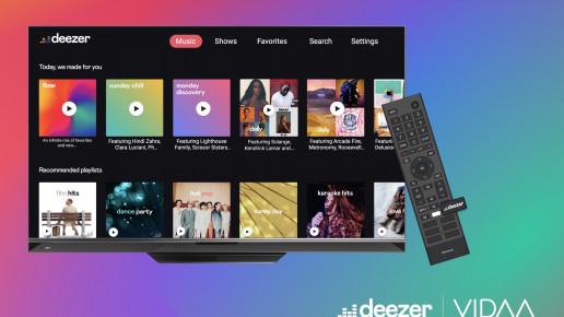 Deezer Vidaa TV