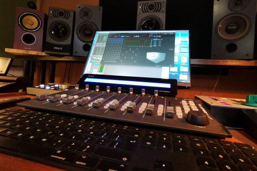 Dolby Atmos render in Eastcote Studios