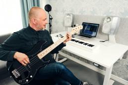 Genelec SAM 8330A speaker in a home studio