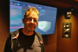 Jamie Gosney of Sopnosphere in the Metropolis 3D audio studio