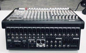 Korg MW 2408 rear web - Audio Media International
