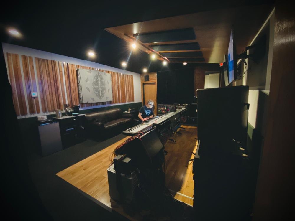 Mike Piersante at The Village Studios