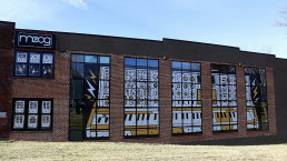 Moog Music building