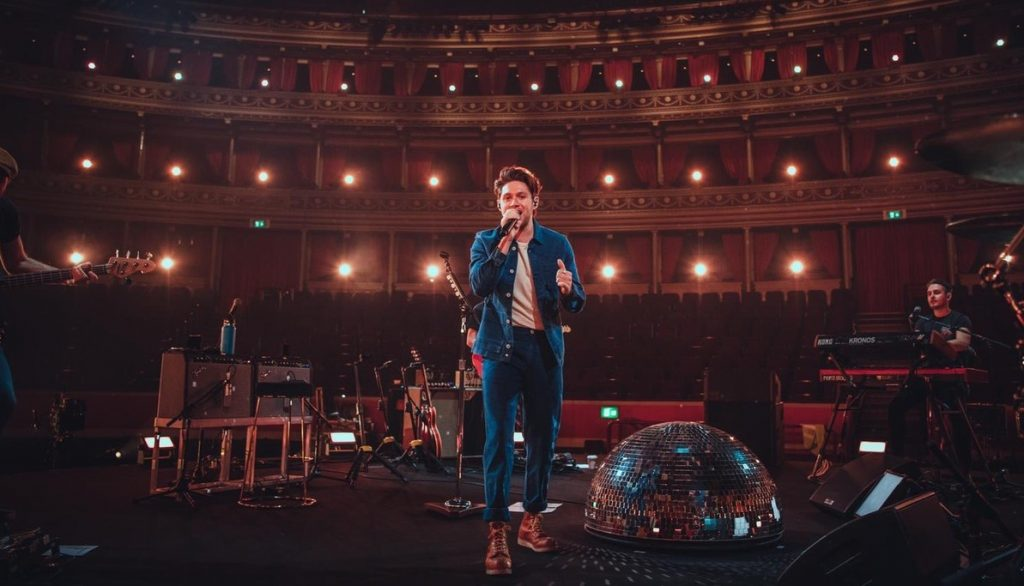 Niall Horan during his Royal Albert Hall livestream Credit Conor McDonnell