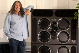 Peter Thomas founder of PMC loudspeakers
