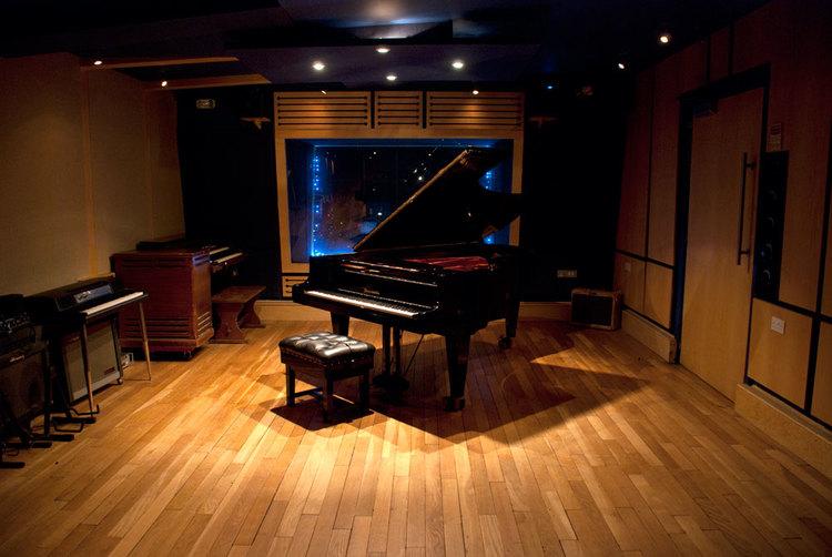 Snap Studios live room
