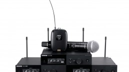 SLX D Shure system uai - Audio Media International