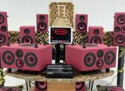 Soul Asylum Studios Acoustics & Design Firm Summer NAMM mock set-up main
