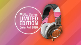 audio technica M50x LimitedEdition Poll uai - Audio Media International