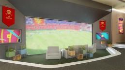 bbc world cup vr room uai - Audio Media International