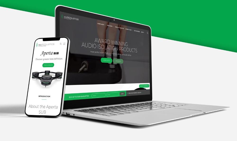 isoacoustics-website-mockup-laptop-phone