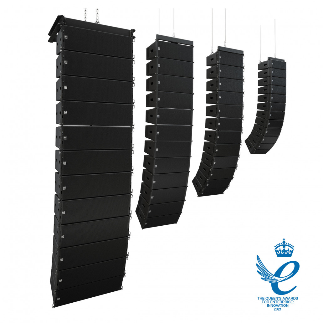 Martin Audio Line Array loudspeakers