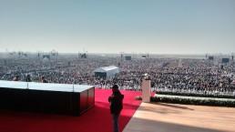 pope in mexico meyersoundjpg uai - Audio Media International