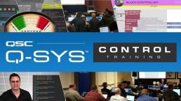 qsc q sys control training uai - Audio Media International